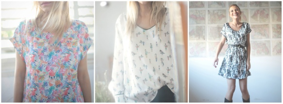 camisas vestidos