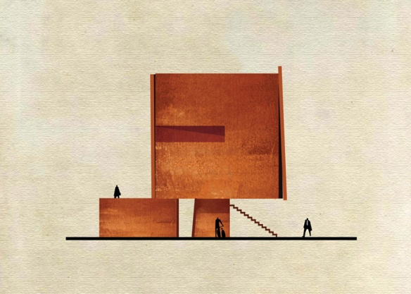 Art-meets-architecture-in-Federico-Babinas-Archist-Series-_dezeen_ss_4
