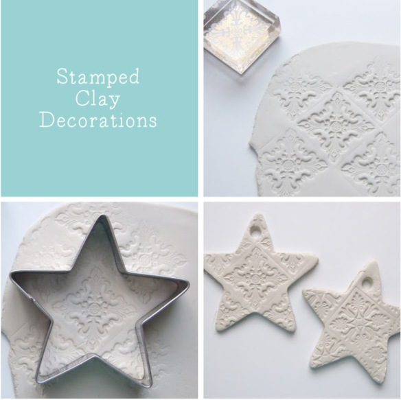 embossed-stamped-clay-star-decorations